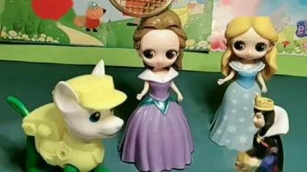 三位公主变成了动物,这些总算变回来了,贝尔真的太坏了!