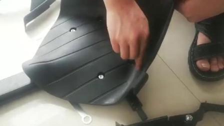 卡丁车架安装视频