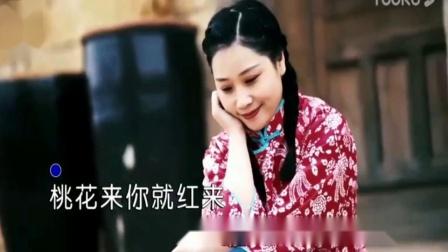 小调情歌桃花红--蒙克演唱版