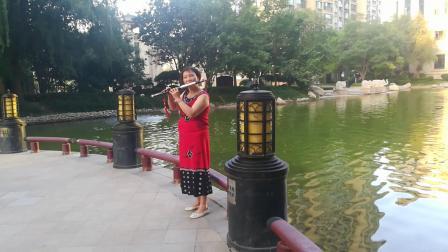 二O一九年八月八日阿楠双管巴乌自乐自奏,侗乡之夜。