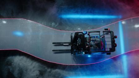 比亚迪CPD16S平衡重式叉车,S形弯道挑战