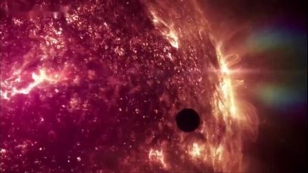 太阳附近巨大的不明飞行物UFO舰队_超清