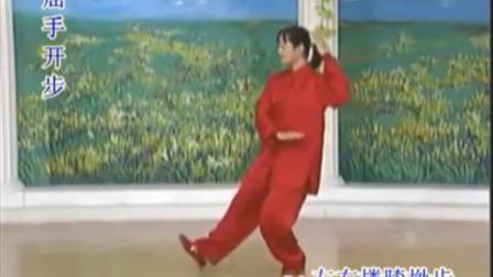 16式杨式太极拳