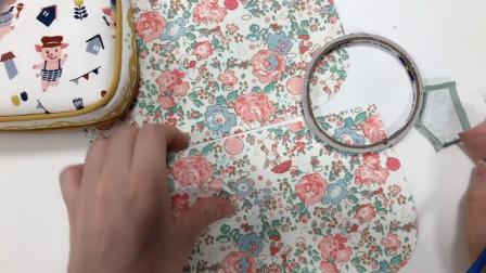吴小姐的店 小香风麻将包子母包手工布艺diy材料包斜跨包清新时尚