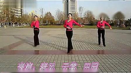 云裳广场舞 西班牙恰恰与背面分解