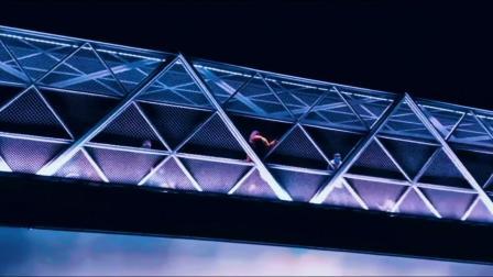 去成都网红五岔子大桥打卡;远远望去,犹如龙蛇腾跃,非常壮观神奇