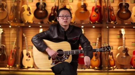 吉普森蜂鸟original民谣吉他测评【世音琴行】.mp4