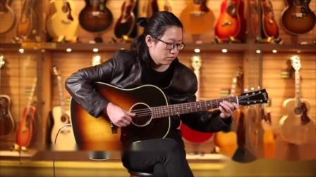 吉普森J45 50s 60s民谣吉他测评【世音琴行】.mp4