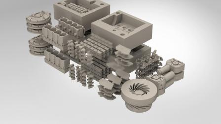 vx2000工业级3D打印机
