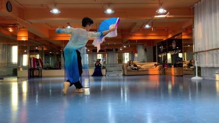 古典舞南山南第三小节背面音乐