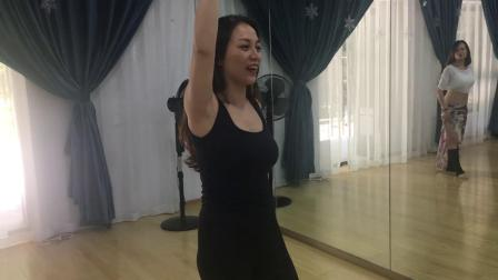 厦门肚皮舞 黄婷系统师资班-高级舞感之怎么抓住线性技巧里的舞感