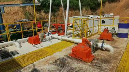 ZJ40DB钻机配套固控系统在山西某煤层钻井现场