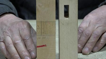 古典家具 榫卯制作 54种结构之一(2)
