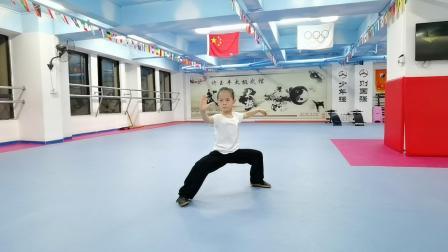 许力铱7岁-国家规定套路-56式陈氏太极拳-玉丰太极