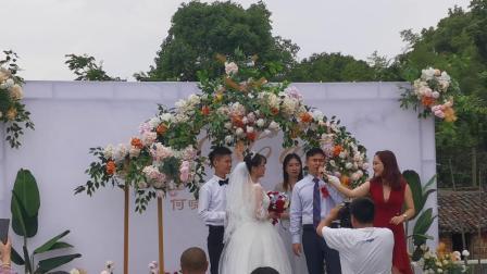 何蔡婚礼2020-05-16 牌楼月池