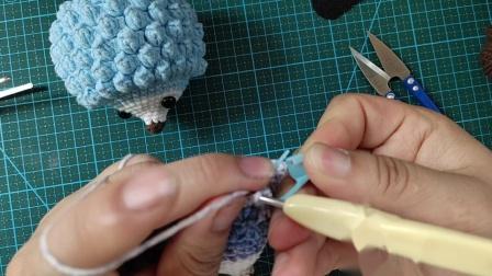 赤赤妈咪手工坊  小刺猬的钩织教程