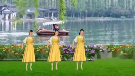 陈金香广场舞《最亲爱的你》原创形体中三附口令教学