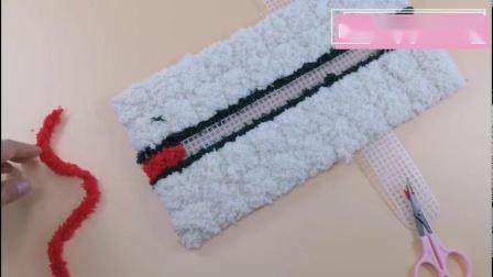 珊瑚绒条纹款和纯色款通用教程
