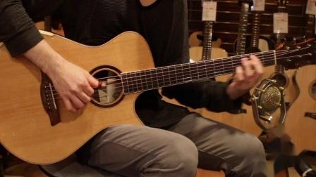 日本海豚吉他教室请井草圣二录的美诗特玫瑰木背VE-IR试听