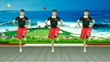 兰兰爱创广场舞《点歌的人》原创附教学单人水兵舞简单新舞友布会