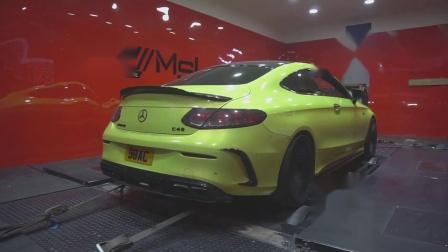 Mercedes-Benz C43 AMG 升级ARMYTRIX 阀门排气套件 马力机上疯狂输出