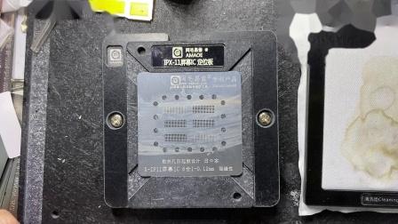 阿毛易修iPhone X-11屏幕IC 6合1植锡台使用教程