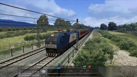 【60帧修复】模拟火车2019陇海线(1) 驾驶K870快速列车灵宝出发 到达三门峡站