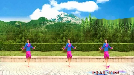 美玲玉广场舞[[站在草原望北京]]编舞:六哥