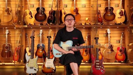 Fender Masterbuilt 63TL/60ST/63ST/59ST电吉他测评【世音琴行】.mov