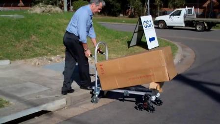 推车演示--使用全向轮技术