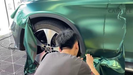 卡莱克汽车贴膜教程车门完整视频车身两侧专业教学视频.mp4