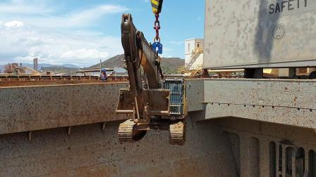 elebia自动吊钩NEO50提升挖掘机 (新喀里多尼亚)