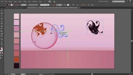Adobe Illustrator CC _ 3D Logo Design Tutorial (Crystal Marble Ball).mp4