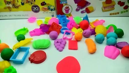 培乐多手工玩具 制作各种水果!