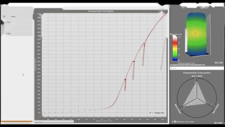 LightningChart NET-剑桥压力计案例