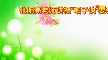 张明亮老师第四期大讲堂 讲授_高清