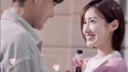 王一博代言美汁源汁汁桃桃广告