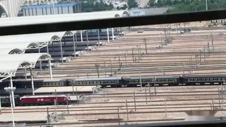 天津站你车迷候车室火车视频集41-京广-陇海-焦郑城际铁路记忆