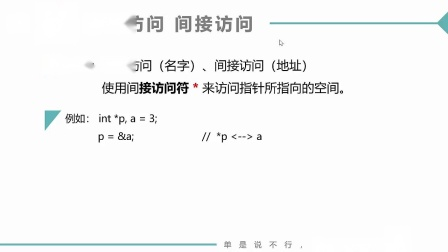 (MOOC网 孙海洋 C语言)第2讲(第11周)指针引用.mp4