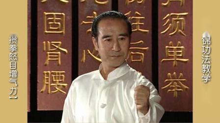 满韶作品《国家版[八段锦]》功法教学之十:《攒拳怒目增气力》