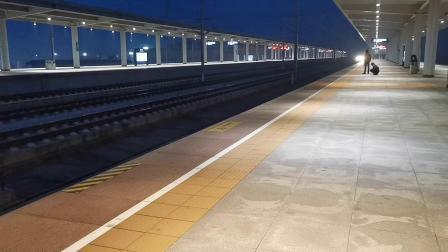 20191122 180400 D1991次列车进鄠邑站