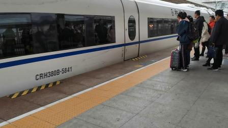20191124 152901 G2216次列车进汉中站