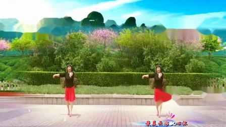 美玲玉广场舞《《花海情缘》编舞:雪妹