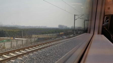 20200111 142509 G1887次列车出鄠邑站