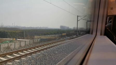 20200111 G1887次列车运行于鄠邑站(西安北站)至汉中站区间