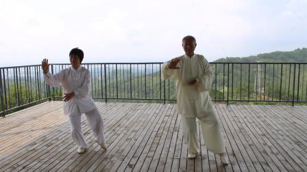 尚新来老师 黎彩文传统杨式太极拳18式