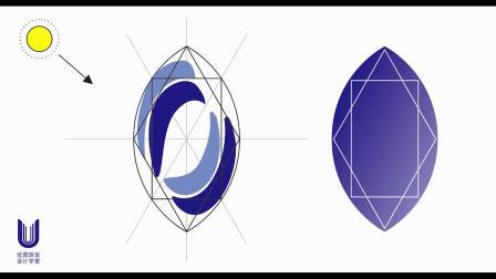 优霓珠宝设计学堂-宝石篇 -蓝宝石上色画法