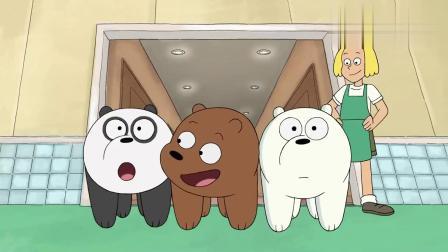 咱们裸熊:熊熊入住狗旅馆,简直是天堂,尽情的享受