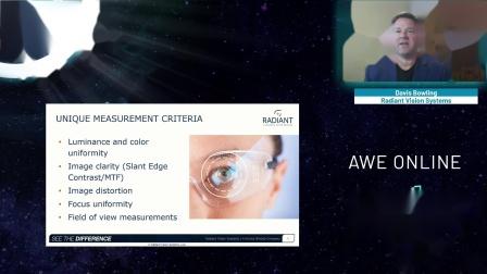 AWE Online 2020: Testing AR/VR Displays