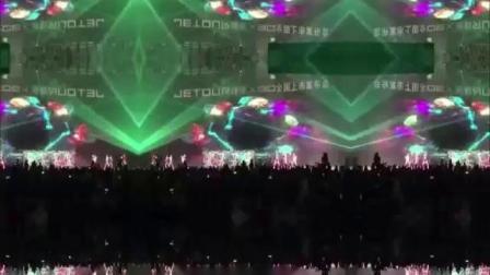 国内高端品牌发布会央企车企多媒体视觉创意经典开场全息表演